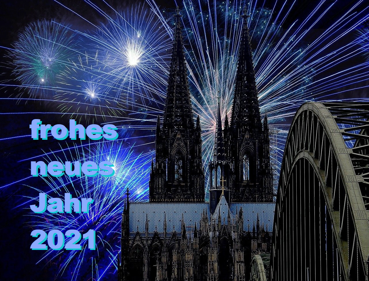 Frohes Neujahr 2021